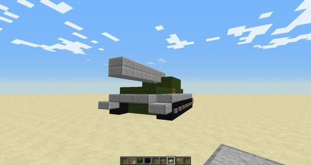 minecraft house tank