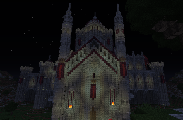misty skull minecraft cathedral adventure map