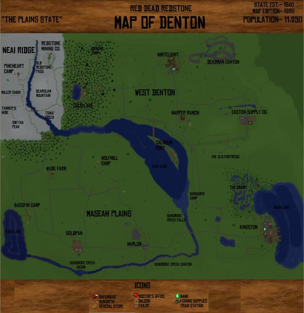 red dead redstone minecraft wild west adventure map