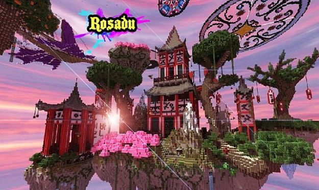 minecraft asian fantasy map download