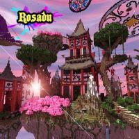Minecraft Asian Fantasy Map Download: Rosadu