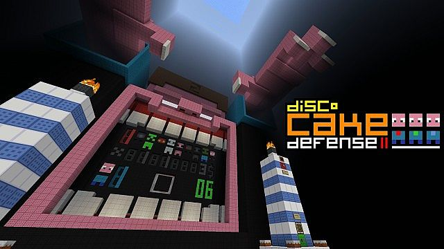 Cake Defense Minecraft Map Download