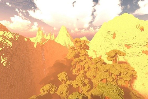minecraft wild terrain map download