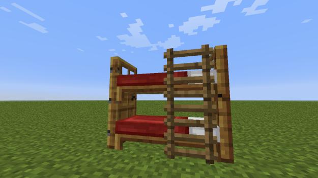 mineraft bunk beds
