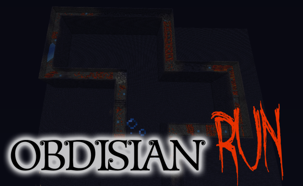 obsidian run minecraft timed parkour