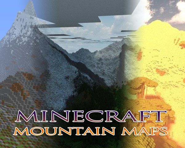 minecraft mountain map downloads