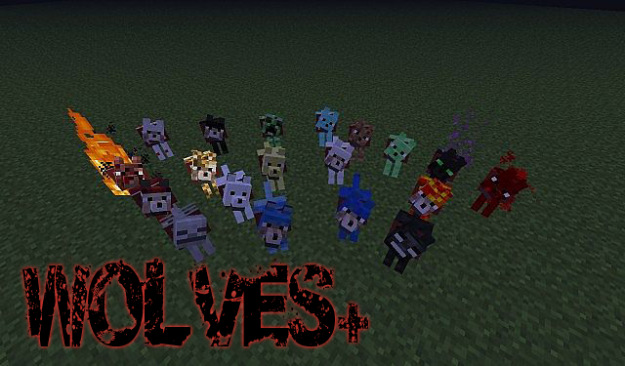 MINECRAFT WOLVES PLUS MOD DOWNLOAD