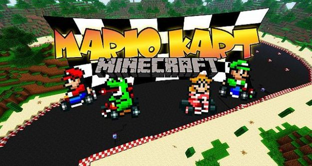 play mariokart in minecraft