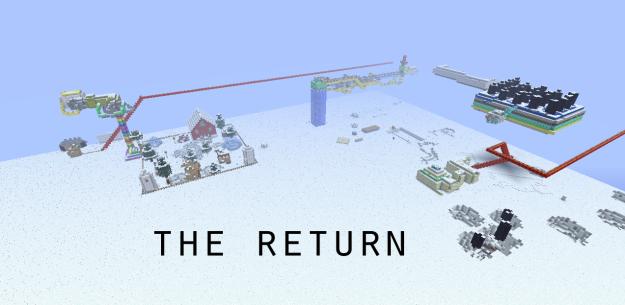 return minecraft adventure puzzle map
