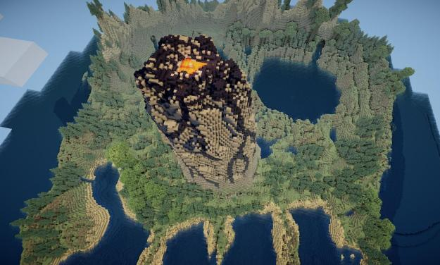 minecraft survival island map download