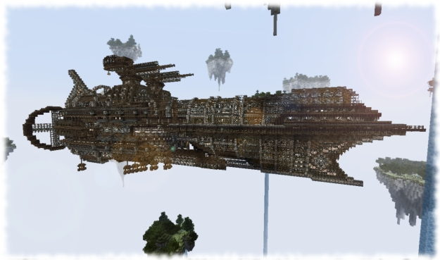 minecraft airship download