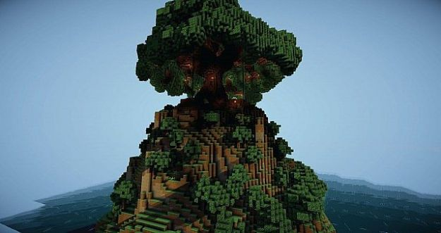 minecraft world tree download